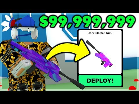 BUYING The DARK MATTER GUN For $99,999,999 And It's OP | Big Paintball (ROBLOX)