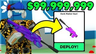 bUYING The DARK MATTER GUN For 99,999,999 And It's OP  Big Paintball (ROBLOX)
