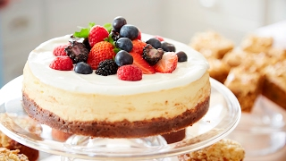 Make Mary Berry's Baked Cheesecake
