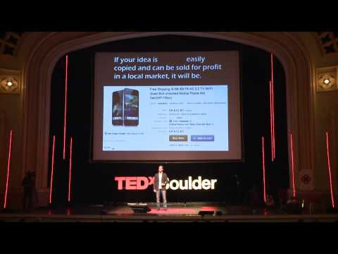 How Open Hardware will Take Over the World: Nathan Seidle at TEDxBoulder