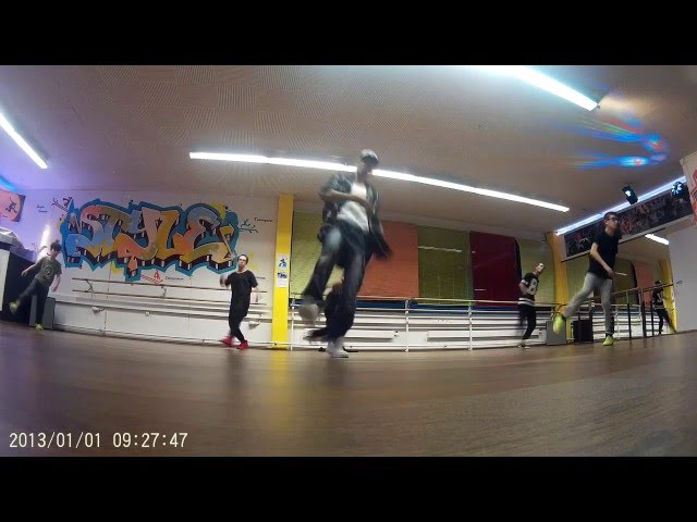 Breakdance routine for beginners 1