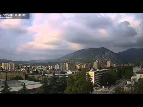 Weather timelapse - Nova Gorica (W Slovenia) - 21/09/2014