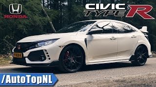 2018 Honda Civic Type R FK8 Review by AutoTopNL (English Subtitles)