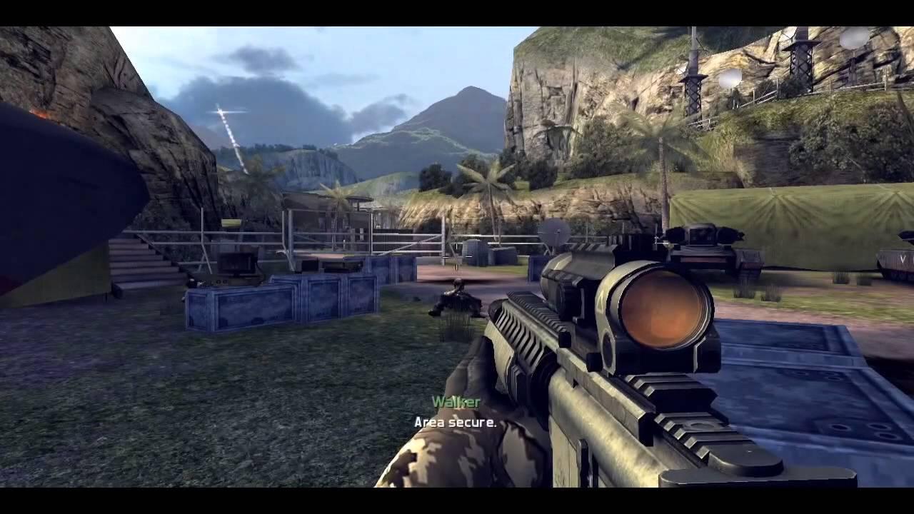 modern combat 4 zero hour iphone 5 mini gameplay mission 1