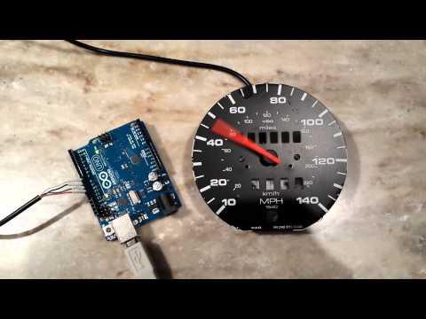 Digital speedometer for cars using arduino Electronics