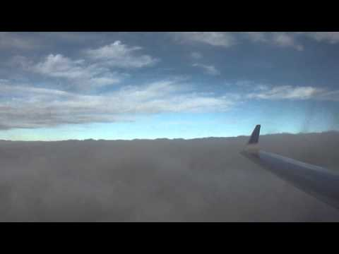 Miami-to-Chicago (ORD) flight: takeoff, Lake Michigan descent & landing 2011-10-23