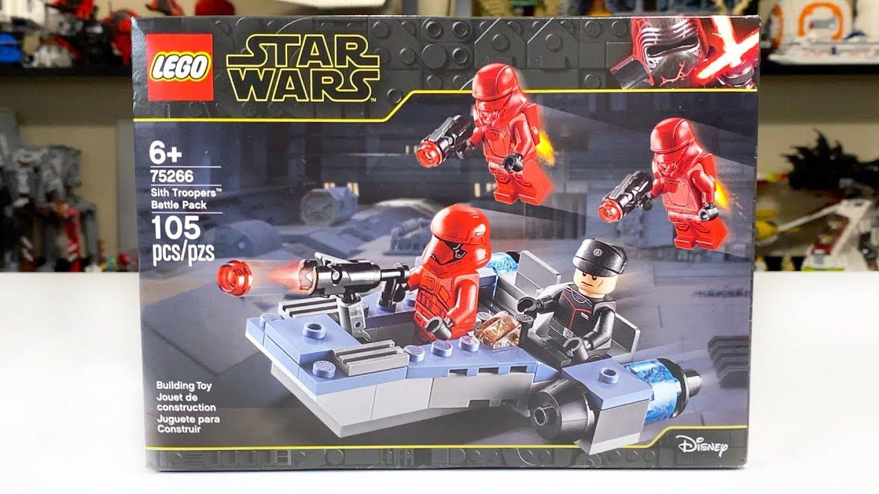 LEGO Star Wars First Order SIth Battle Speeder from set 75266