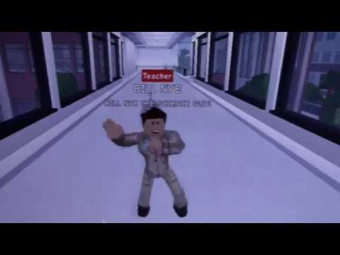 Bill Nye The Science Guy Dancing In ROBLOX