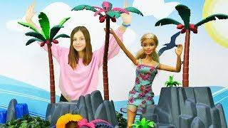 Видео для девочек  - Кукла Барби собирается в отпуск