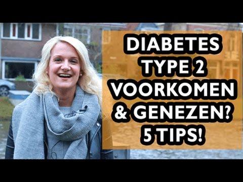 5 Tips Om Diabetes Type 2 Te Voorkomen & Genezen