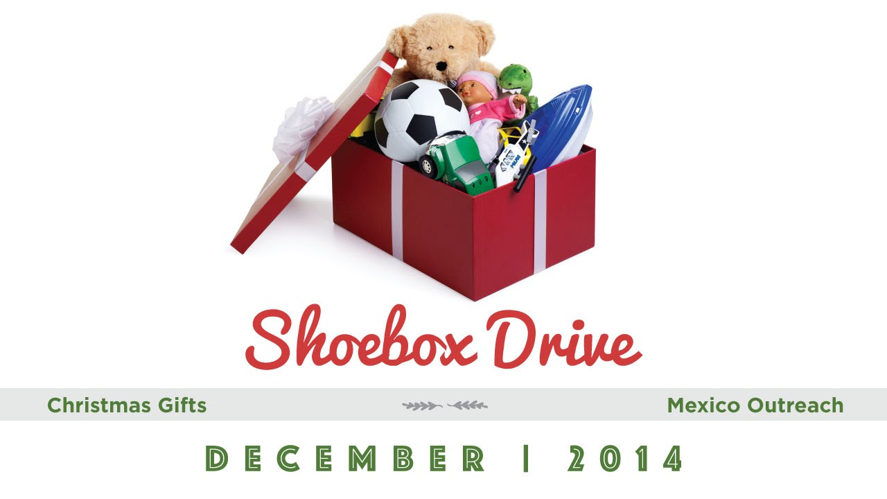 New missions christmas shoebox gift