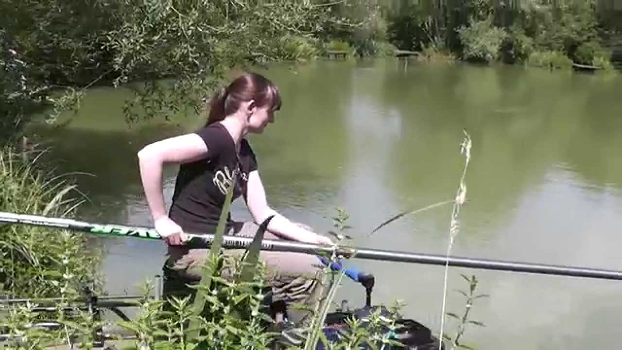 Bury hill fishery bonds lake anna 39 s first fish in her for Lake anna fishing report