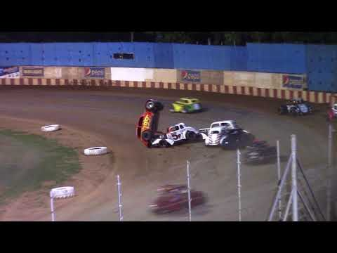 8/5/18 Legends Flip Angell Park Speedway