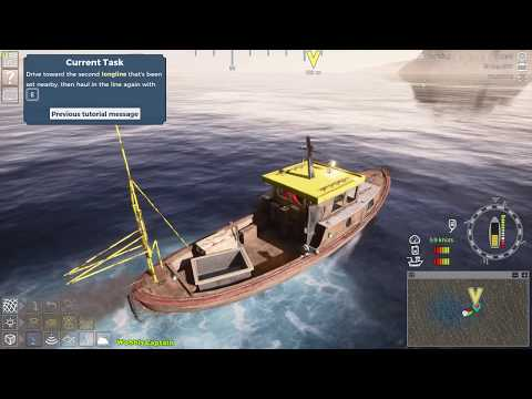 Fishing Barents Sea Beta Access Gameplay Tutorial Misson First Look