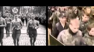 Война ИНТЕРЕСНОЕ ВИДЕО ПРОСЛЕЖИВАЕТСЯ НЕОБЫКНОВЕННОЕ СХОДСТВО Украина сегодня