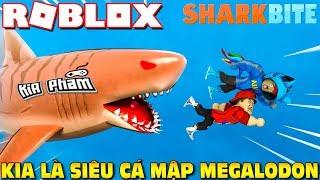 Roblox | KIA TURN Into SUPER SHARK MEGALODON TYRANTS-SharkBite (Code) | Kia Breaking