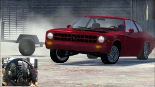 BeamNG GoPro UPDATE - Have You Ever Drifted With a Trailer??