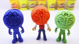 Learn Colors For Children With Pj Masks Wrong Heads Doraemon