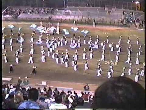 """Nogales High School """"Noble Regiment"""" Band And Pageantry @ The '96 Savannah Field Tournament"""