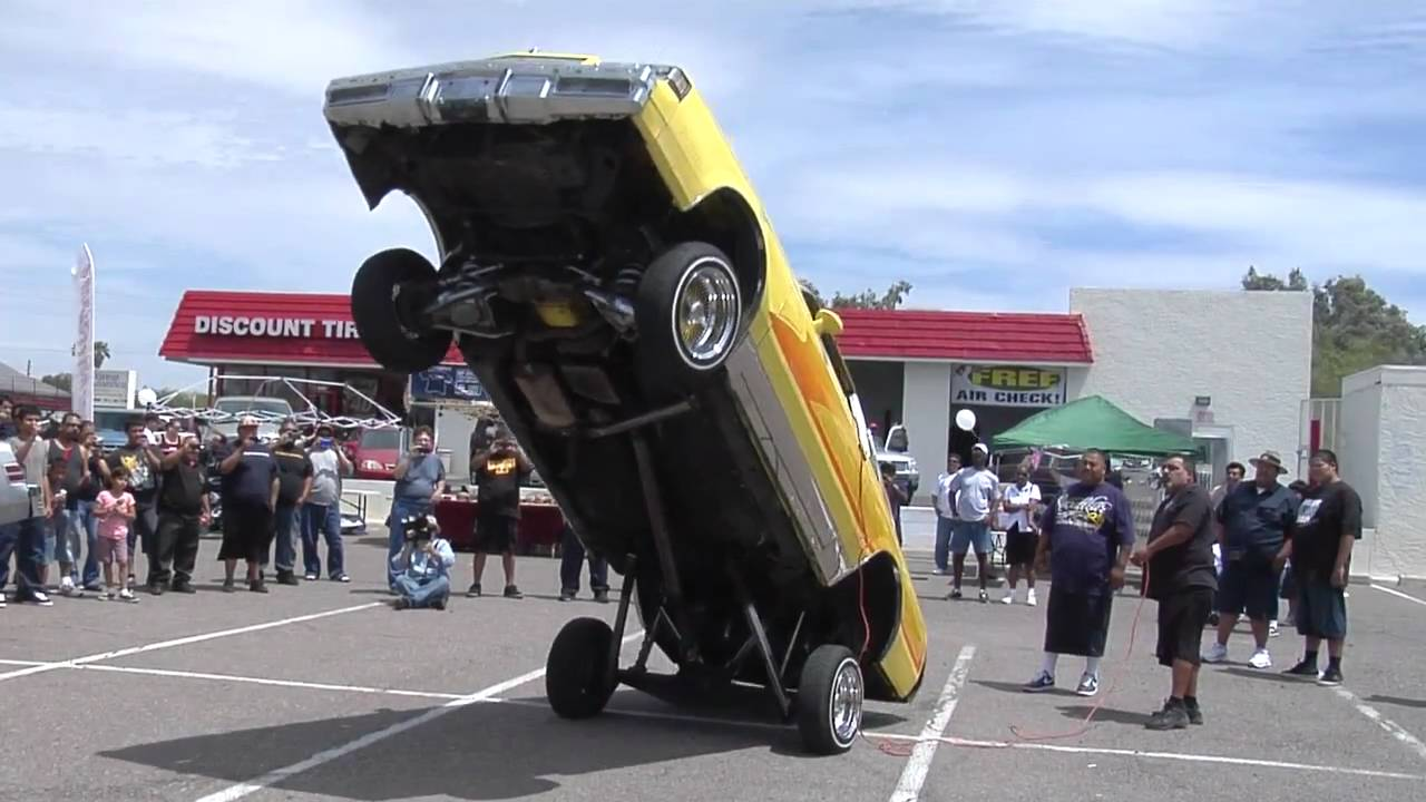 Back Bumper From Franks Hydraulics YouTube - Cool cars jumping