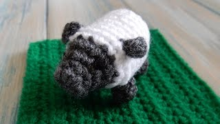 How To Crochet a Sheep - Yarn Scrap Friday