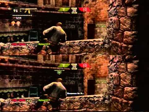 how to play splitscreen on uncharted 2