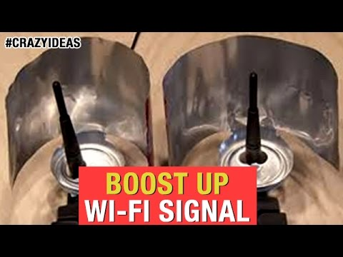 Android Hacks | How To Boost Up WIFI SIGNAL With TIN | Technology Hacks | Crazy Ideas