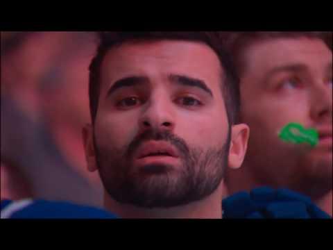 Pregame Intro/Anthems - Boston Bruins vs Toronto Maple Leafs ECQF Game 6 04/23/18