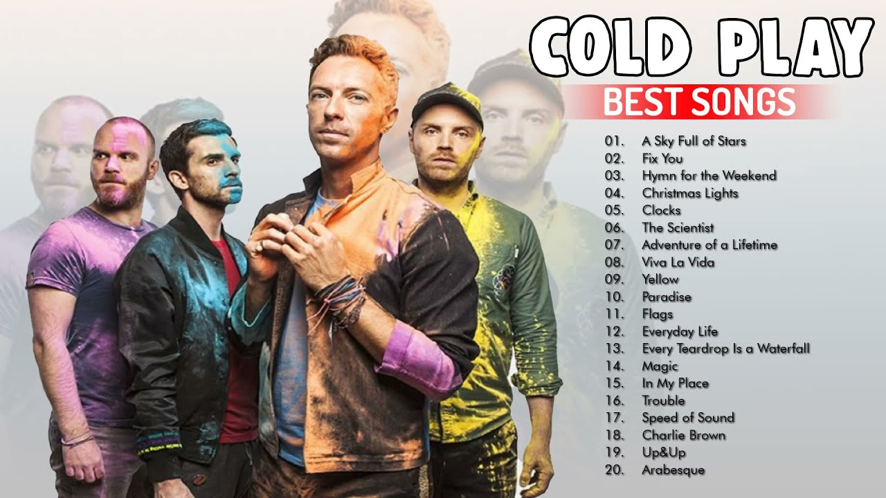 Coldplay Greatest Hits   Best Of Coldplay Playlist 2021