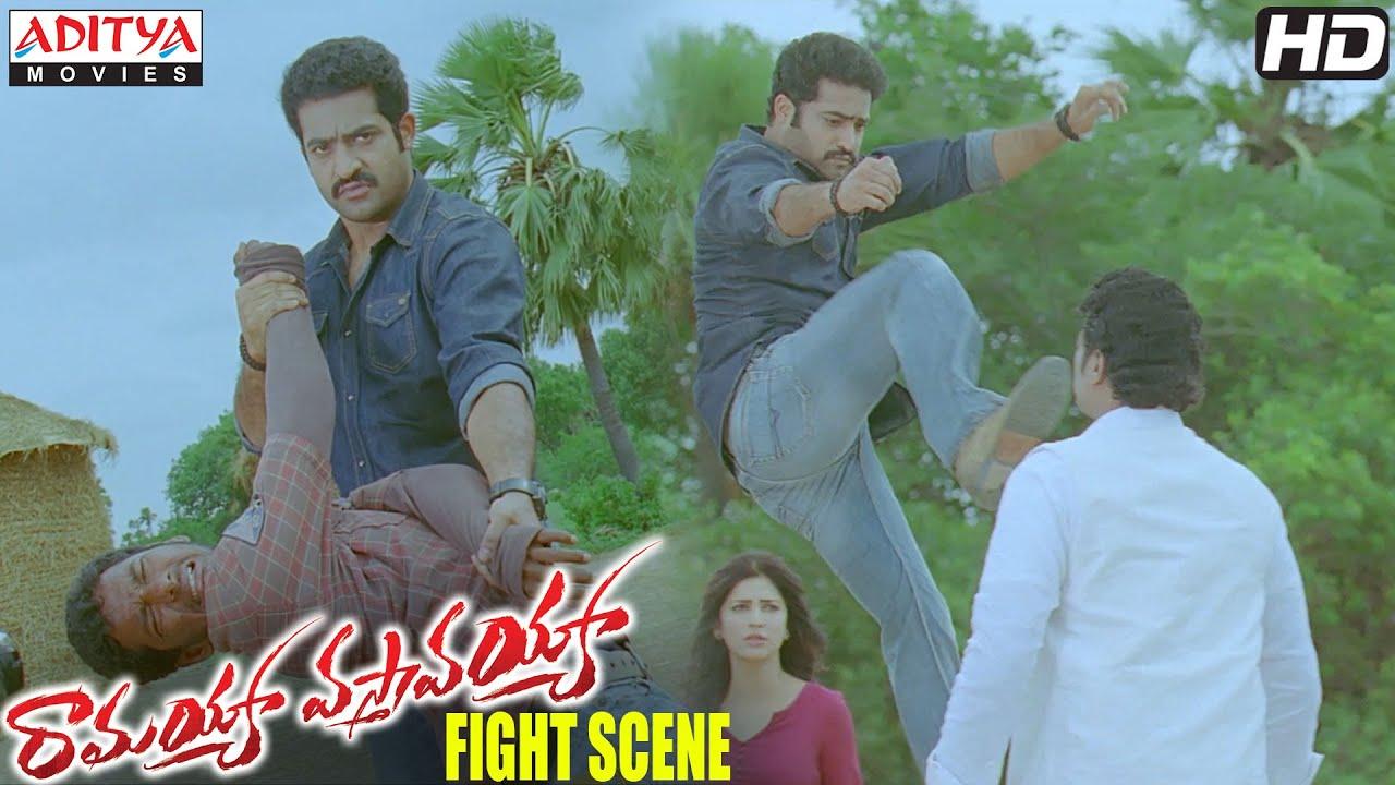 Download Ramayya Vasthavayya Movie - NTR Fight with Ravi Shankar -  NTR, Shruti Haasan & Samantha