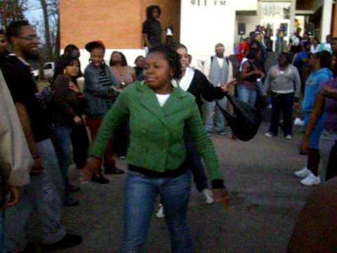 Wiley College Students on the YARD