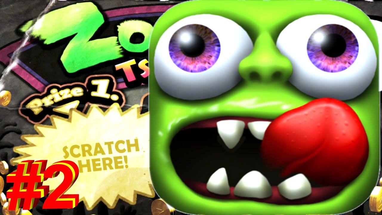 Zombie Tsunami: I ate 100 civilians and unlocked new features. Gameplay #2
