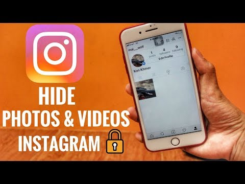 how to hide photo and video in instagram easy 2017