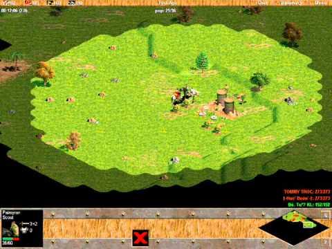 ChimSeDiNang.com - Tommy trọc vs Khủng long đại đế Solo random T4 ngày 4/1/2013