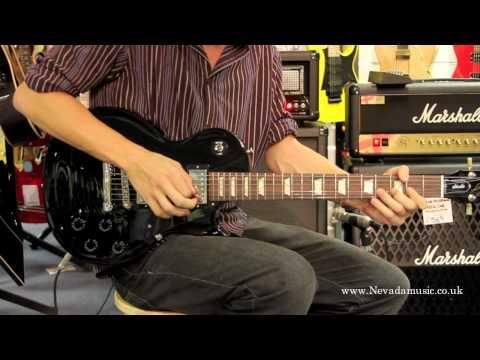 Gibson Les Paul Studio Demo in Ebony - Sam Bell @ Nevada Music UK