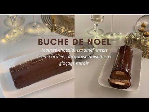 buche-de-noel-avec-insert-glaçage-miroir,-dacquoise-noisettes-et-insert-crème-brulée