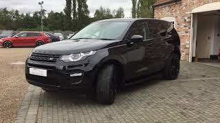 LAND ROVER DISCOVERY SPORT TD4 HSE URBAN AUTOMOTIVE FOR SALE IN SANTORINI BLACK METALLIC