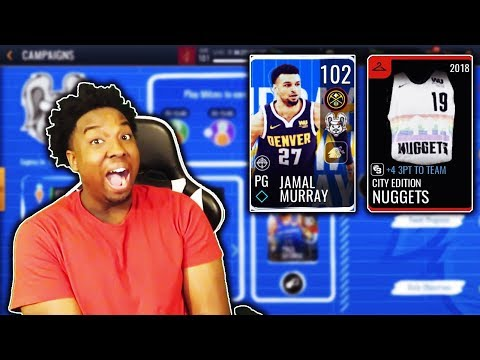 Completing the 102 OVR Jamal Murray NO MONEY SPENT In NBA Live Mobile 19!!! (Road to the top Ep. 45)