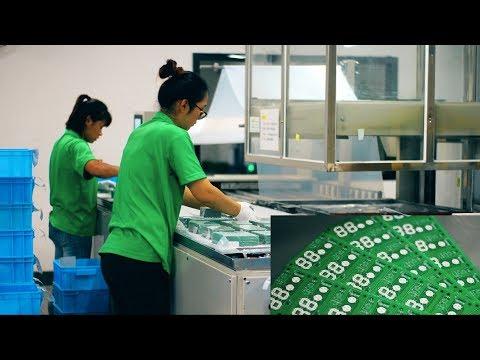 видео: Мегазаводы Китая  - jlcpcb. Производство печатных плат.