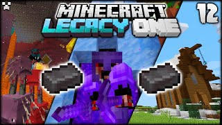 FULL Netherite! | Minecraft Survival LegacySMP Ep.12