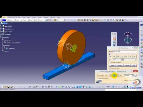 How to make animation video in Catia