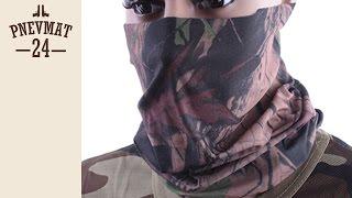 Шарф-маска микрофибра Leave Video