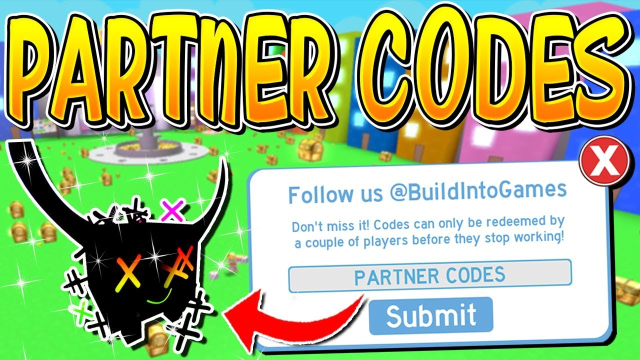 codes for pet simulator roblox