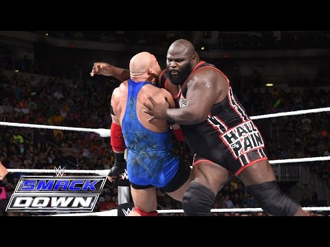 Ryback vs. Mark Henry: SmackDown, July 2, 2015
