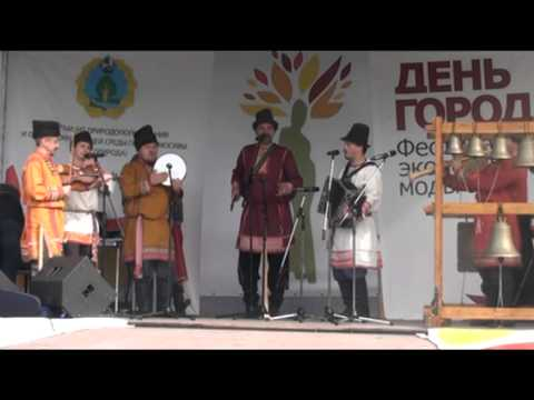 Московский Хор рожечников - День города