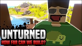 How high can you build without losing oxygen? (Unturned)