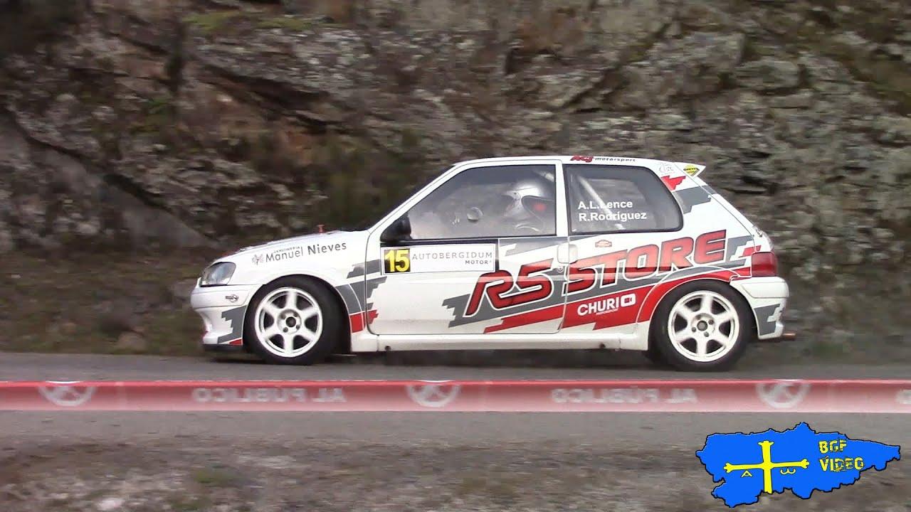 Antonio López - Raquel Rodríguez  (Peugeot 106) Rallysprint Villa de Cacabelos 2020