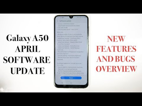 Galaxy A50 Latest Update |New Camera Features,Fingerprint improvement and Bugs |Hindi|