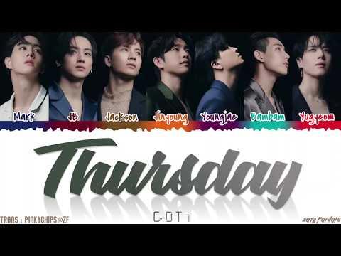 GOT7 - 'THURSDAY' Lyrics [Color Coded_Han_Rom_Eng]