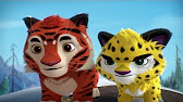 Лео и Тиг - Осень в тайге 🌲 4 серия Новые российские мультфильмы .